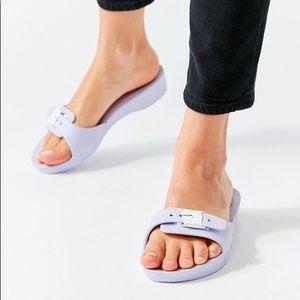 Dr Scholl's Lavender Slides